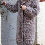 genç hanımlar için uzun örgü hırka modelleri (45)