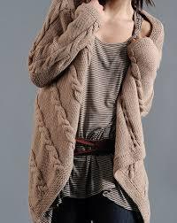 genç hanımlar için uzun örgü hırka modelleri (52)