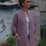 genç hanımlar için uzun örgü hırka modelleri (56)