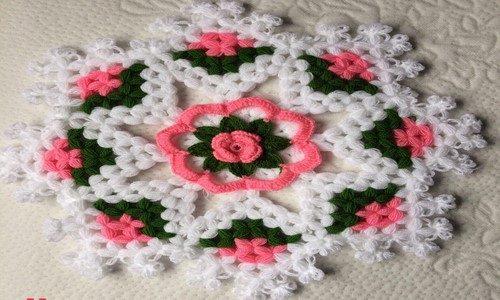 çiçekli kar tanesi lif modeli (2)