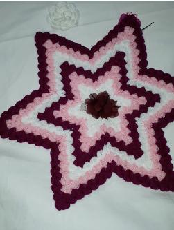 baklava dilimli yıldız lif modeli