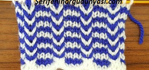 iki renkli saç örgüsü modeli (5)
