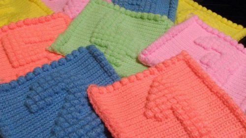 rakamlı tunus işi battaniye modeli yapımı (1)