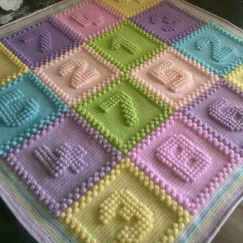 rakamlı tunus işi battaniye modeli yapımı (4)