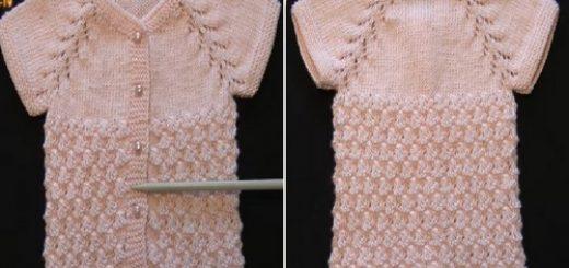 1 yaş kız çocuk için robalı midye kabuğu yelek modeli.png5