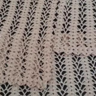 bahar dalları tığ işi yelek yapımı