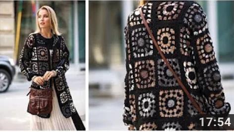 batik iple mevsimli hırka yapımı