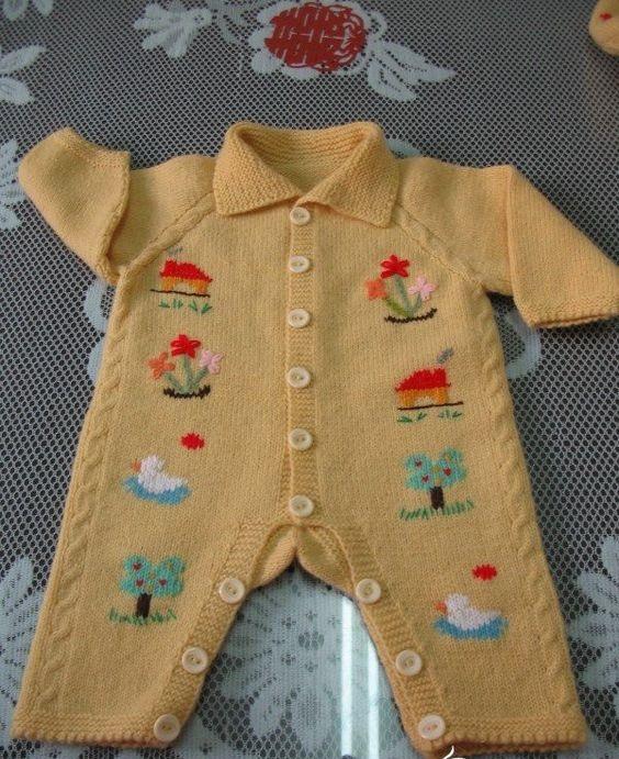 en tarz erkek bebek örgü modelleri (27)