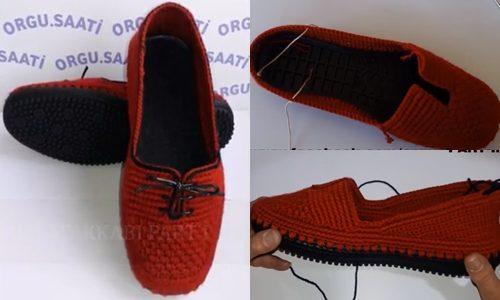 hazır tabanlı kırmızı örgü ayakkabı yapımı.png4