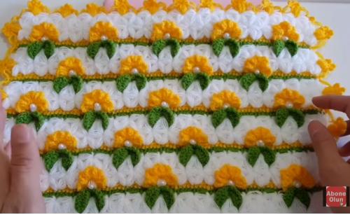çiçek bahçesi lif yapımı