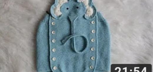 fil figürlü askılı bebek şortu yapımı