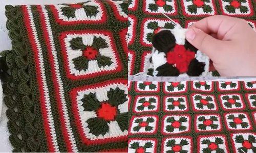 gelin tacı motifli yatak örtüsü yapımı.png4