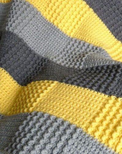 kare desenli tığ işi battaniye modeli yapımı (10)