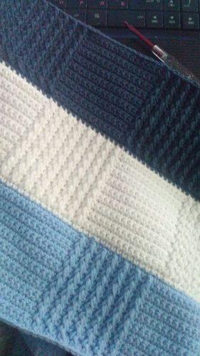 kare desenli tığ işi battaniye modeli yapımı (13)