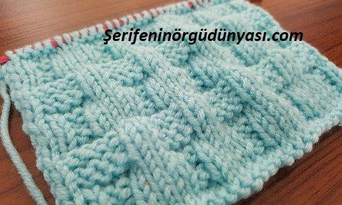 kemer görünümlü battaniye modeli (1)