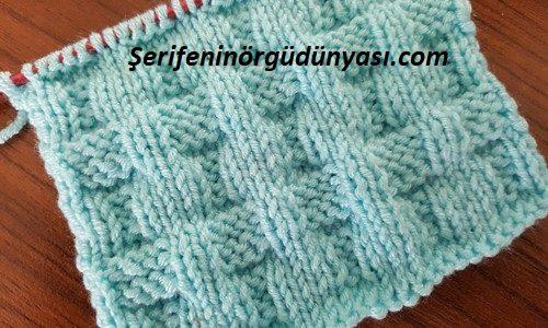 kemer görünümlü battaniye modeli (5)