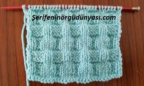 kemer görünümlü battaniye modeli (12)