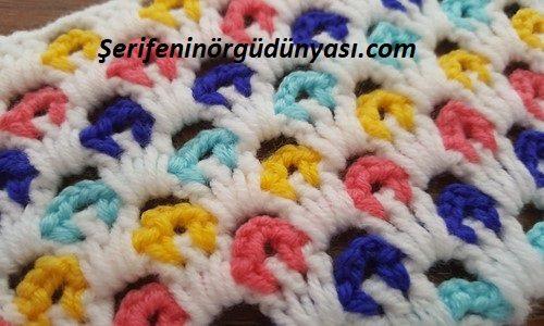 rengarenk pipirikler battaniye lif modeli (5)
