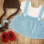 örgü masal kahramanı kız çocuk kostümleri (20)