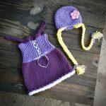 örgü masal kahramanı kız çocuk kostümleri (5)