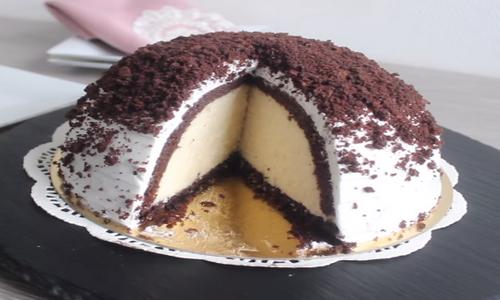 yapılışı kolay kümbet (köstebek) pasta
